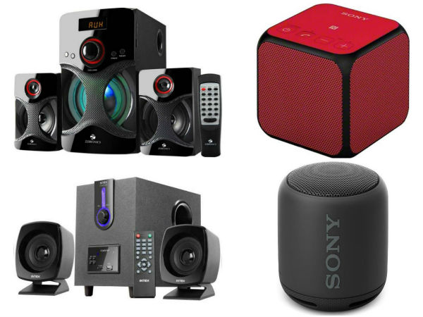 Upto 50% off: Ganesh Chaturthi offers on Home Theater, Portable Bluetooth Speakers