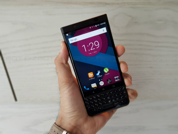 BlackBerry KEYone launched at Rs. 39,990; sale debuts on August 8