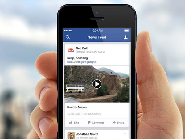 Facebook News Feed updated with a new design