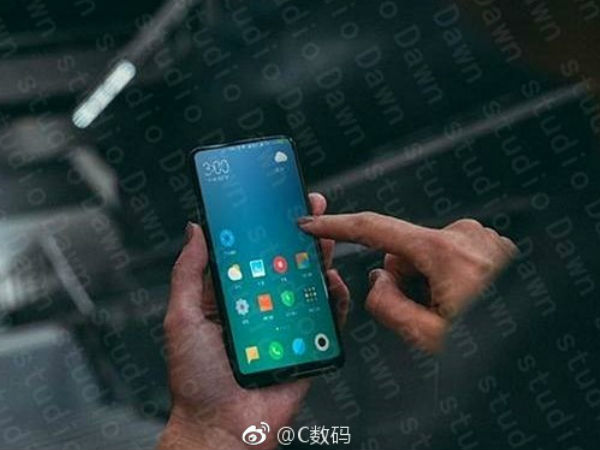 Alleged Xiaomi Mi Mix 2 Live Photo Leaked