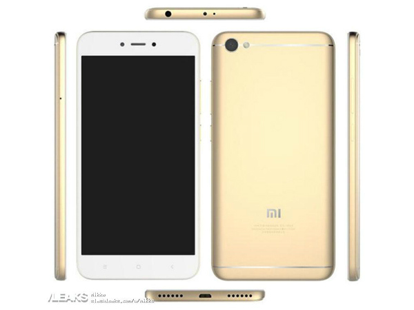 Xiaomi Redmi Note 5A press render, specs and price are out