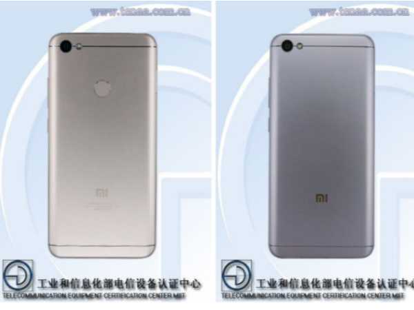 Xiaomi Redmi Note 5, Redmi Note 5A specs and design revealed by TENAA