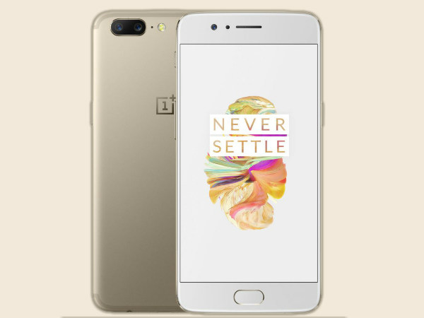 OnePlus 5 Soft Gold variant goes on sale in India