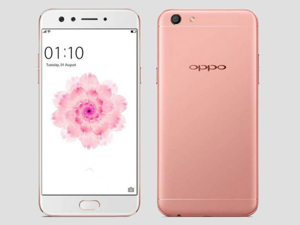 Oppo F3 Rose Gold color variant launched in India