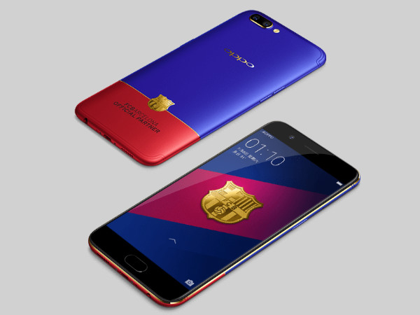 Oppo R11 FC Barcelona Edition is now available for purcahse