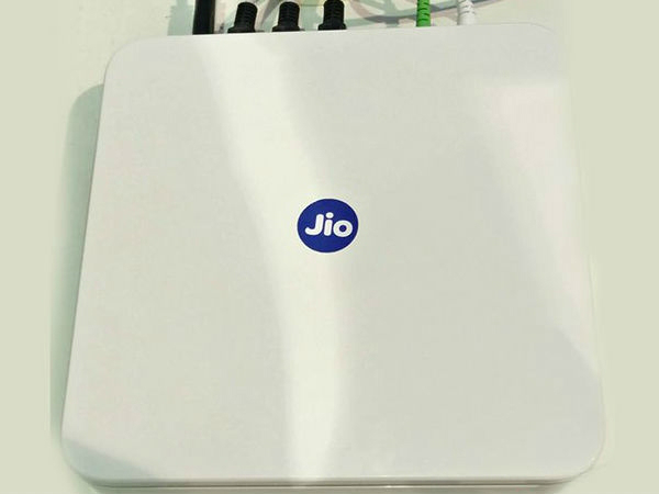 Reliance Jio Fiber to provide 100GB data at 1Gbps speed for Rs. 500
