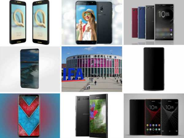 Smartphone launches to expect at the IFA 2017
