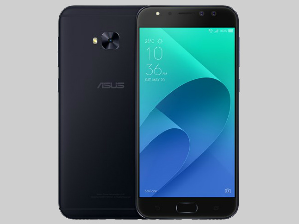 ASUS launches 3 selfie-focused smartphones under Zenfone 4 series