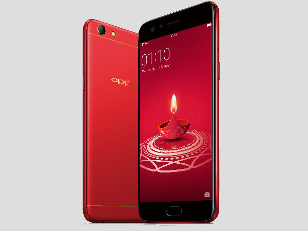 Image result for Oppo F3 Diwali Limited Edition with 4GB RAM unveiled in India at Rs 18,990