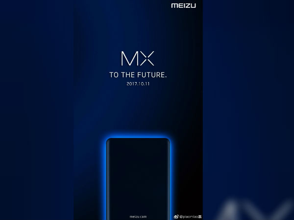 Alleged Meizu MX7 posters suggests an October 11 launch