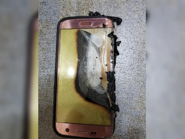 Alleged Samsung Galaxy S7 bursts into flames causing severe burns