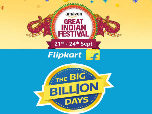Amazon and Filpkart offers on best smartphones for this festival season