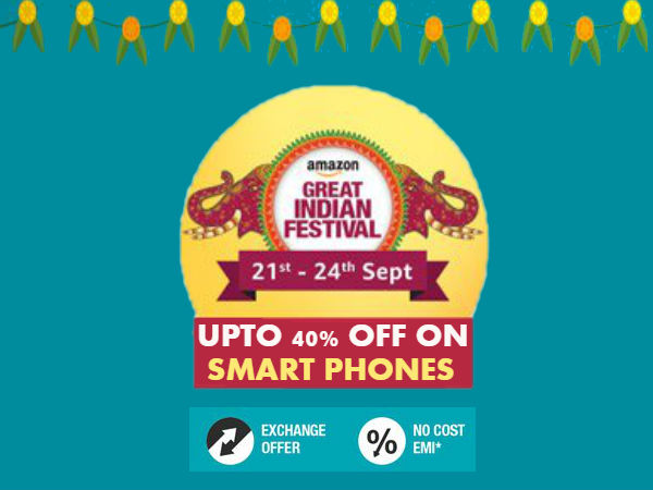 Amazon great Indian Sale: Upto 40% off on Samsung Galaxy Note 8, Oneplus 5, iPhone 7 and more