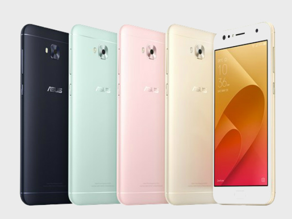 ASUS ZenFone 4 Selfie series goes official in India, three phones included