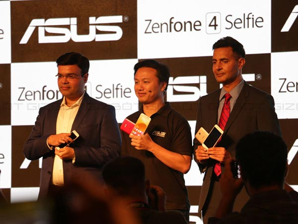 Asus Zenfone 4 Selfie, 4 Selfie Pro launched starting from Rs. 9,999