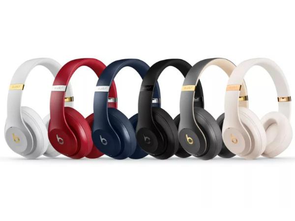 Apple unveils Beats Studio3 Wireless headphones with nifty features