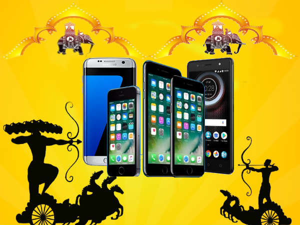 Big Billion Day Dasara Offers on smartphones: Samsung Galaxy S7, HTC U11, iPhone 7 and more