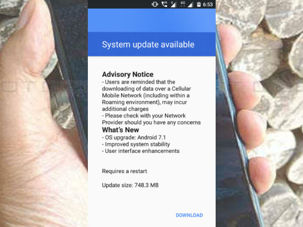 Finally, Nokia 3 starts getting Android 7.1.1 Nougat update