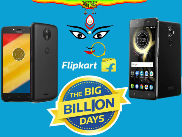 Flipkart Big Billion Day sale: Dussehra offers on budget to mid-range 4G Smartphones