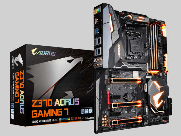 Gigabyte Z370 AORUS motherboards unveiled based on the Intel Z370 chip