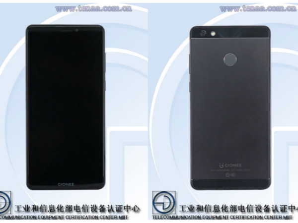 Gionee GN5007 spotted on TENAA with 18:9 display and 5000mAh battery