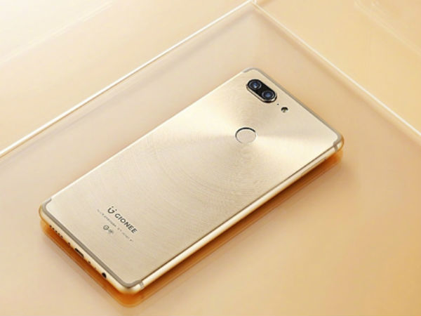 Gionee M7 images released: Stunning design with four cameras