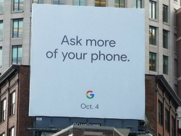 Google Pixel 2 and Pixel 2 XL to be unveiled on October 4