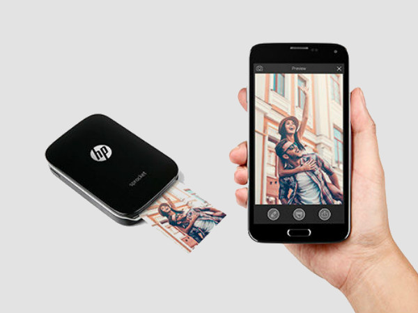 HP Sprocket portable printer for smartphones launched in India