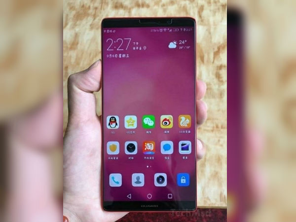 Huawei Mate 10 appears in leak again; features a full-screen design