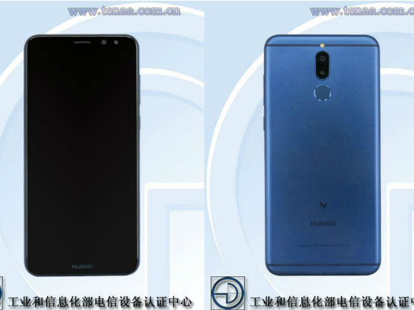 Huawei smartphone featuring four cameras now gets certified on TENAA