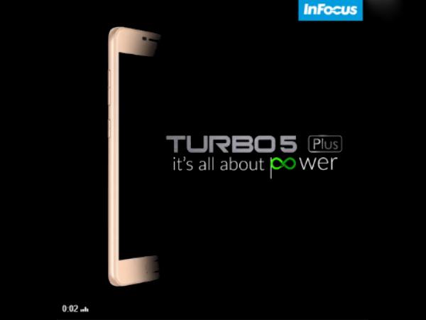 Infocus Turbo 5 Plus India launch is imminent