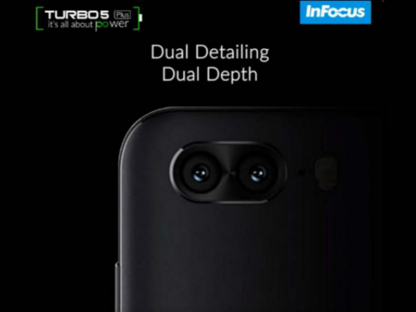 InFocus Turbo 5 Plus to feature a dual rear cameras, hints teaser