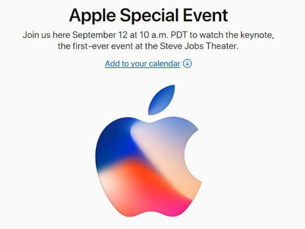 iPhone 8 to launch on September 12; official invites out