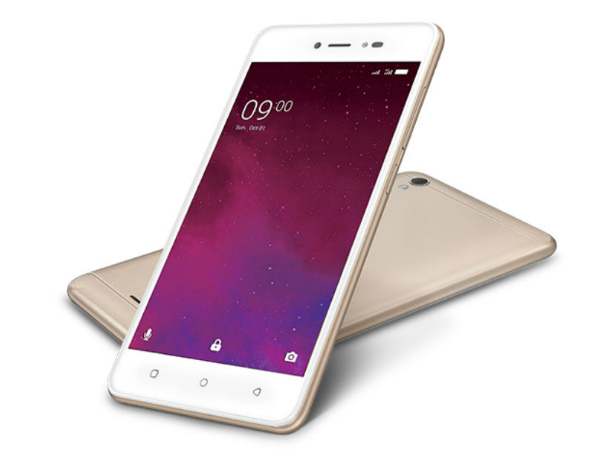 Lava Z60 with entry-level specs launched at Rs. 6,499