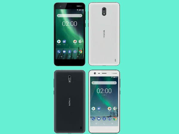 Low-end Nokia 2 smiles for the camera