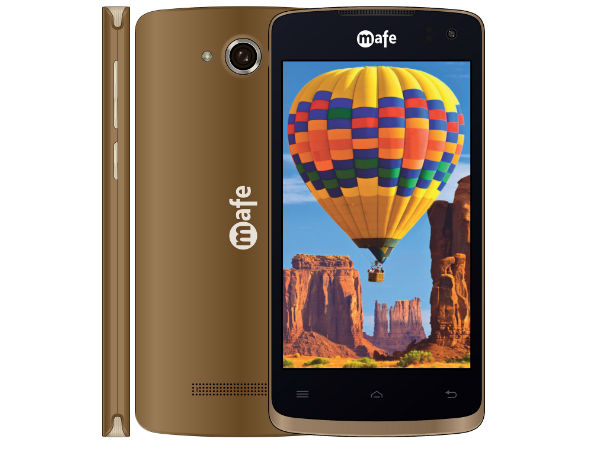 Mafe Mobile launches Android Nougat based AIR smartphone at Rs. 3,999