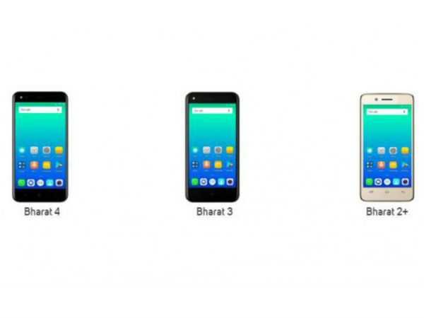 Micromax Bharat 4, Bharat 3 and Bharat 2 Plus now officially listed