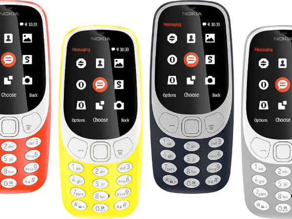 Nokia 3310 3G announced with Snake; release pegged for mid-October