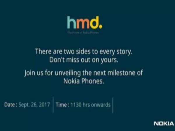 Nokia 8 India launch confirmed! HMD India sends invites for September 26 event