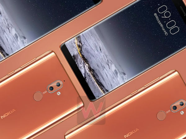 Nokia 9 renders show bezel-less design and dual rear cameras