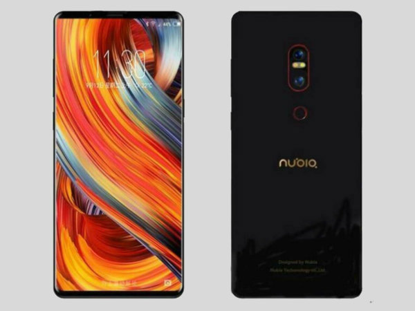 Nubia to unveil a new bezel-less smartphone on October 12th in China