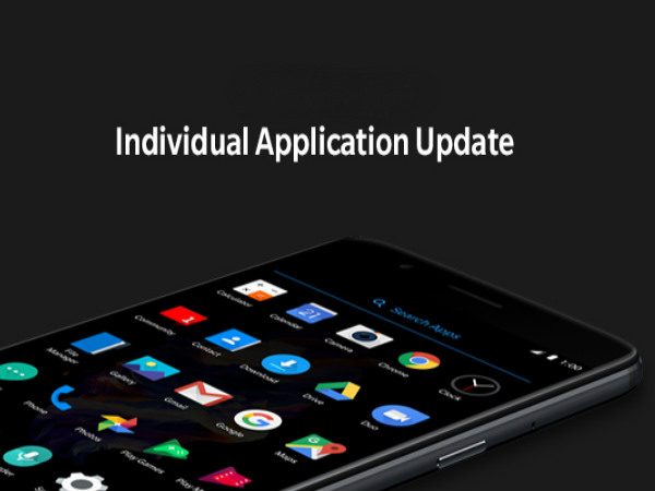 OnePlus introduces Individual Application Update: Users to get updates faster and more frequently