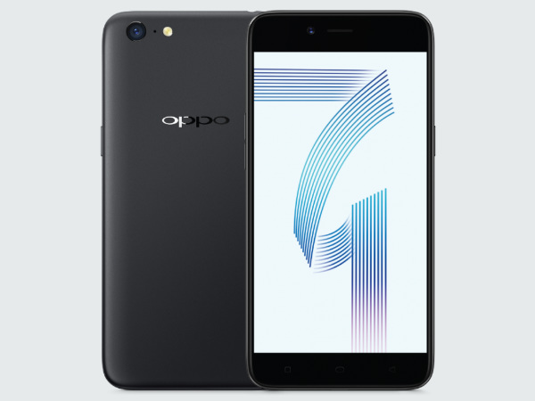 Oppo Launches A71 With Selfie Flash For Rs 12990