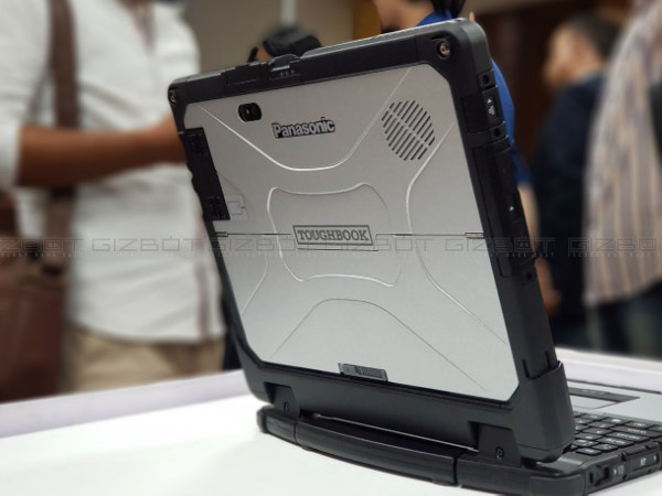 Panasonic unveils rugged 2-in-1 detachable laptop CE-33 in India