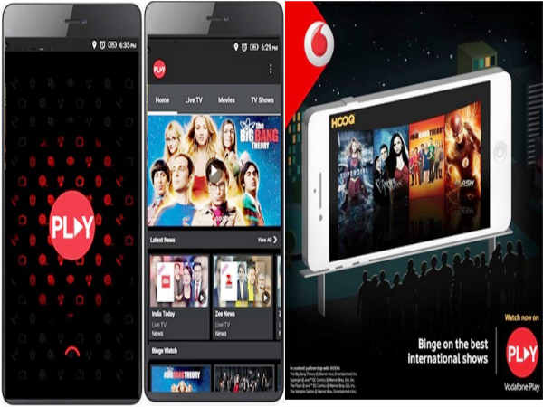 Vodafone Play join hands with HOOQ for content