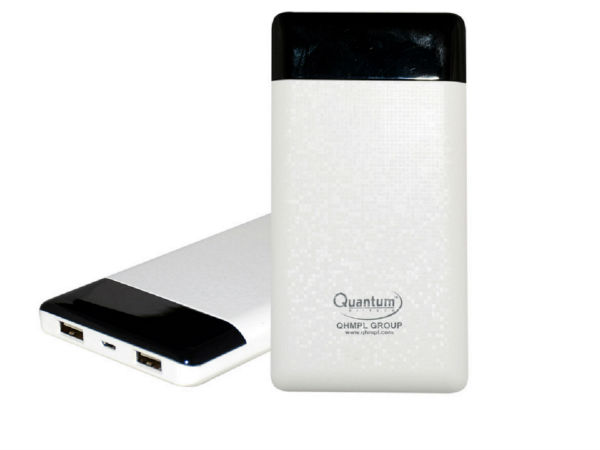 Quantum Hi Tech launches new power bank QHM 10KP at Rs. 1,899
