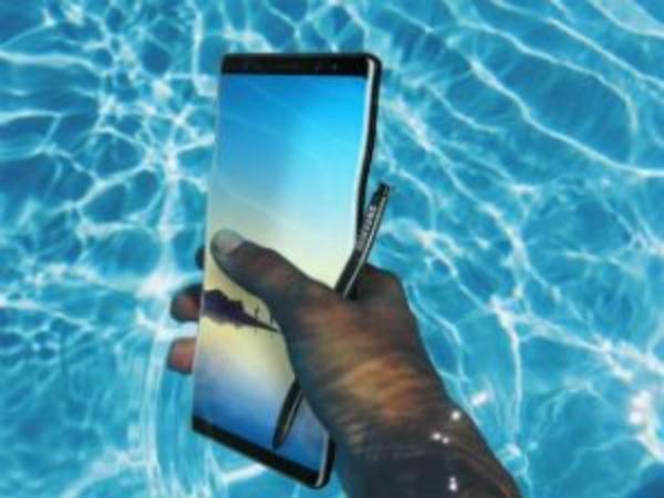 Samsung Galaxy Note 8 undergoes durability test: Watch the video here