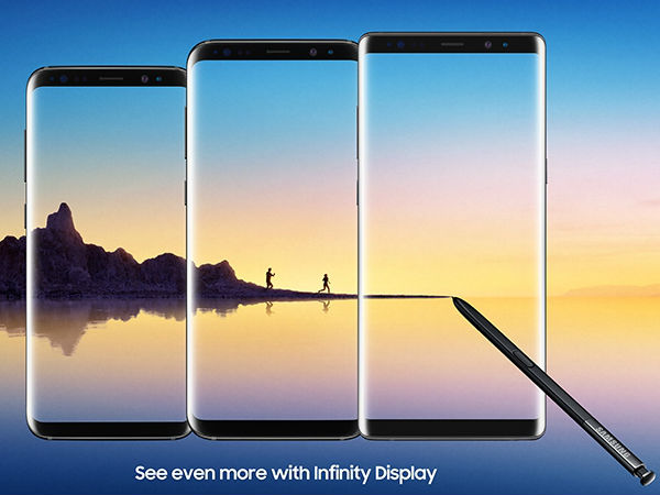 Samsung Galaxy Note 8 Vs best big-screen smartphones