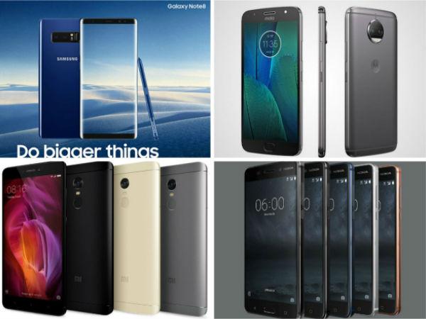 Top 10 trending smartphones of last week