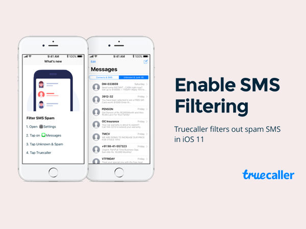 Truecaller's new feature for iOS 11 filters out junk SMS from iMessage